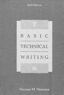 Basic Technical Writing