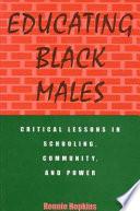 Educating Black Males