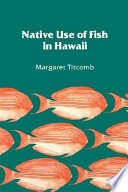 Native Use of Fish in Hawaii