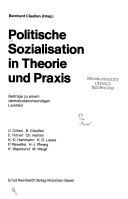 Politische Sozialisation In Theorie Und Praxis