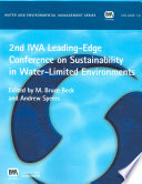 2nd IWA Leading edge Conference on Sustainability