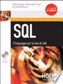 SQL  Il linguaggio per le basi di dati  Con CD ROM