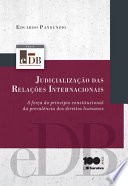SÉRIE EDB: JUDICIALIZAÇÃO DAS RELAÇÕES INTERNACIONAIS