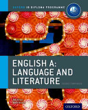 IB English Language   Literature Course Book
