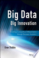 Ebook Big Data, Big Innovation Epub Evan Stubbs Apps Read Mobile