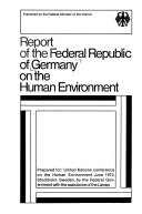 Ebook Report of the Federal Republic of Germany on the Human Environment Epub N.A Apps Read Mobile