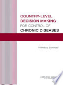 Country Level Decision Making For Control Of Chronic Diseases