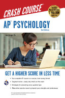 AP R  Psychology Crash Course Book   Online