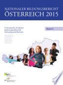 Nationaler Bildungsbericht Österreich 2015, Band 2