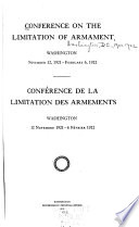 Conference on the Limitation of Armament