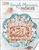 Simple Pleasures in Redwork