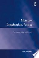 Memory  Imagination  Justice
