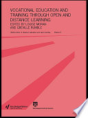 Vocational Education and Training Through Open and Distance Learning