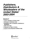 Publishers, Distributors, & Wholesalers of the United States