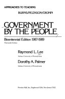 Approaches to Teaching Burns/Peltason/Cronin Government by the People