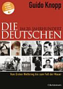 Die Deutschen im 20  Jahrhundert