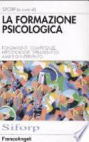 La formazione psicologica