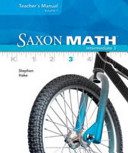 Saxon Math Intermediate 3, Volumes 1 And 2