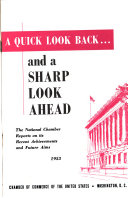 A Quick Look Back and a Sharp Look Ahead