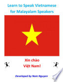 Learn to Speak Vietnamese for Malayalam Speakers