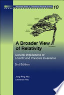 A Broader View of Relativity