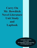 Carry on Mr  Bowditch Novel Literature Unit Study and Lapbook