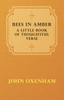 download ebook bees in amber; a little book of thoughtful verse pdf epub