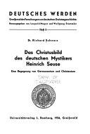 Das Christusbild des deutschen Mystikers Heinrich Seuse