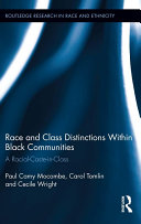 Race and Class Distinctions Within Black Communities