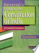 Universal S Guide To The Constitution Of India book