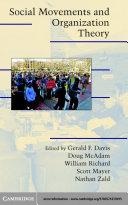 Social Movements and Organization Theory
