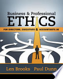 Business   Professional Ethics for Directors  Executives   Accountants