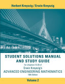 Student Solutions Manual Advanced Engineering Mathematics