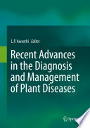 Recent Advances In The Diagnosis And Management Of Plant Diseases book