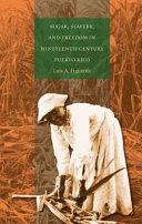 Sugar  slavery  and freedom in nineteenth century Puerto Rico