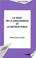 Le Droit De La Concurrence Et Le Secteur Public
