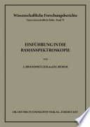 Einführung in die Ramanspektroskopie