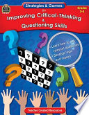 Games for Improving Critical Thinking   Questioning Skills