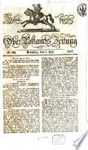 Frankfurter Ober Post Amts Zeitung