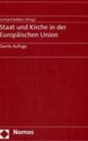 Staat und Kirche in der Europäischen Union