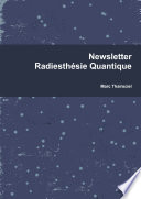 Newsletter Radiesth  sie Quantique