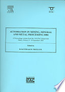 Automation in Mining  Mineral and Metal Processing 2004