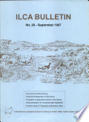 International Livestock Centre For Africa Bulletin: No. 28 - September 1987 : ...