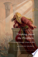Thinking about the Prophets Book PDF