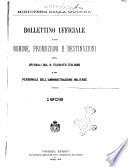 Bollettino ufficiale delle nomine  promozioni e destinazioni negli uffiziali dell esercito italiano e nel personale dell amministrazione militare