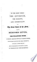 History of the Drainage of the Great Level of the Fens Called Bedford Level