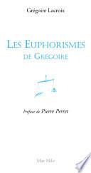 illustration Les euphorismes de Grégoire Vol. 1
