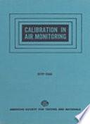 Calibration In Air Monitoring