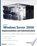 illustration Microsoft Windows Server 2008