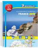 France 2015 Laminated Atlas